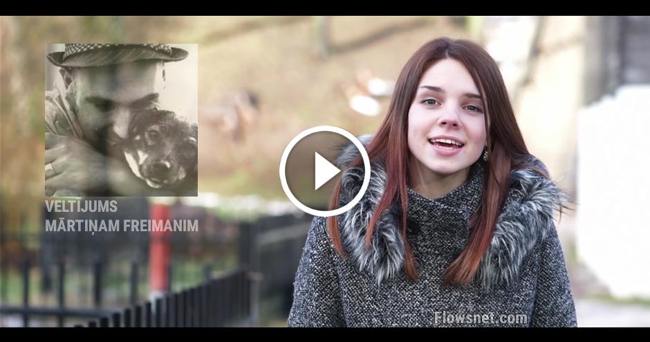 VIDEO VELTĪJUMS MĀRTIŅAM FREIMANIM 40. GADU DZIMŠANAS DIENĀ NO AIZPUTES JAUNIEŠIEM